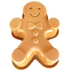 Griya Cetakan SIlikon Pudding Cake Kue Jelly Medium Gingerman