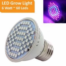 Harga Grow Light 6 Watt 60 Led New