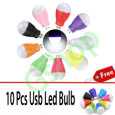 Gshop Lampu Baca LED USB LED Portable Mini Light Lamp Bulb For Computer Laptop PC Desk Reading Energy Saving Bulb 11 Pcs