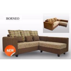 Gudangsofa Sofa L Minimalis Borneo