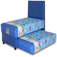 Guhdo Set Kasur Spring Bed 2In1 Happy Kids HB Bravo 90 X 200