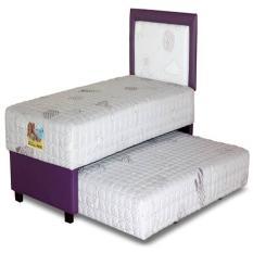 Guhdo Set Kasur Spring Bed 2In1 Happy Kids Latex HB Astro 90 X 200