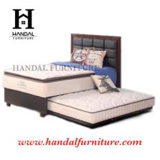 Guhdo Set Kasur Spring Bed 2In1 Sapphire Dream HB Metropolis 120 X 200