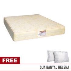 Guhdo Springbed New Prima 180 x 200 Ketebalan 25 Cm Mattress Only - Free 2 Bantal Helena - Khusus Jabodetabek