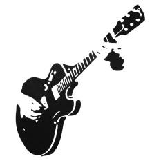 Jual Wall Sticker Gitar Gitaris Musik Dapat Dilepas Stiker Rumah Dekorasi Lukisan Dinding Intl Oem Branded