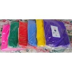 Gulaal Warna-Holi Warna-warna Bubuk-12 Lbs 6 Warna BHARAT ONLINE MEREK, HANYA HANYA dari TOKO INI (2lbs EA Warna) MERAH atau ORANYE, PINK, BIRU MUDA, HIJAU, KUNING, dan UNGU-KAPAL dari LOS ANGELES 3 SAMPAI 6 HARI PENGIRIMAN-Intl