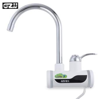 Gzu Zm D4 Tankless Elektrik I Air Heater Faucet Dapur Perlengkapan Dengan Led Tampilan Digital