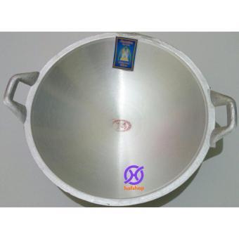 Hafshop Kuali Wajan Tumis Penggorengan Aluminium No 14 35 Cm