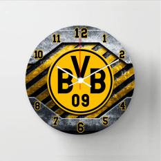 Halos Creation Jam Dinding Borussia Dortmund 30 Cm Murah