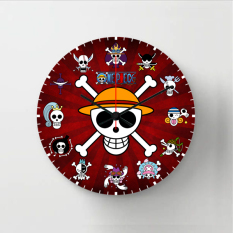 Spesifikasi Halos Creation Jam Dinding One Piece 30 Cm Beserta Harganya