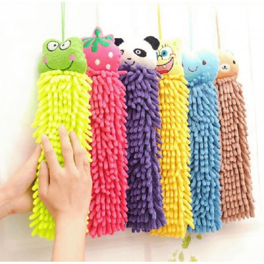 Hand Towel Microfiber Chenille Handuk Kain Lap Tangan Micro Fiber Unik