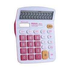 Harga Handheld Colorful Standar Fungsi Desktop Kalkulator Elektronik Solar 12 Digit Naik Merah Internasional Branded