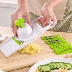 Harga Genggam Multi Mandolin Alat Pengiris Sayuran And Keju Dapur Set Putih Stainless Steel Pisau Pemotong Parutan Julienne Alat Pengiris Yang Murah
