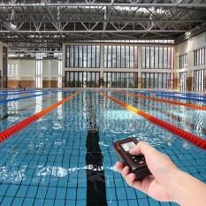 Handheld Presisi Keselamatan Laser Jarak Meter Digital Laser Jarak Penemu Mengukur Rentang 0.05 Sampai 40 M