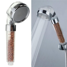 Jual Handheld Shower Head High Pressure Magnetic Negatif Ion Shower Nozzle Satu Set
