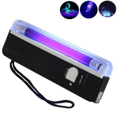 Handheld UV Black Light Torch Portable Blacklight with LED - intl