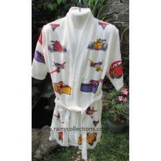 Harga Handuk Kimono Karakter Car Size Anak 5 8 Thn