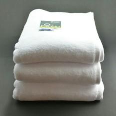 Toko Handuk Mandi Terry Palmer Putih Polos Premium Hotel Ukuran Dewasa 70 X 140 Cm Terry Palmer
