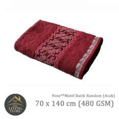 Ongkos Kirim Terry Palmer Handuk Motif Batik Bath Towel 70 X 140 Cm 480 Gsm Merah Di Indonesia