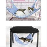 Review Hang Qiao Pet Cat Mesh Hammock Cage Hanging Bed Blue