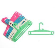 Hanger Plastik Kecil Gantungan Baju Anak 12 Inchi