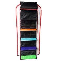 Hanging Bags Organizer Zipper HBOZ - Rak Tas Gantung Resleting - Rainbow