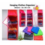 Harga Hanging Clothes Organizer Rak Pakaian Gantung Praktis Ekonomis Warna Lengkap Yg Bagus
