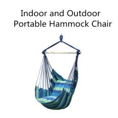 Tali Gantung Hammock Chair Porch Swing Seat Sky Kursi dengan Bantal untuk Ruang Indoor atau Outdoor-Intl