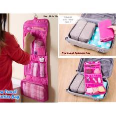 Hanging Toiletries Bag Organizer / Tas Kosmetik / Travel Bag / Toilet Mandi