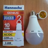 Hannochs Lampu Led Emergency Genius Touch Lamp 10 Watt Lazada