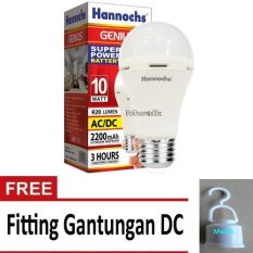 Hannochs Lampu LED Emergency Genius/ Touch Lamp 10 Watt