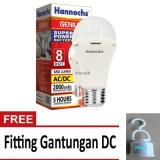 Beli Hannochs Lampu Led Emergency Genius Touch Lamp 8 Watt Lengkap