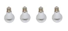 Hannochs LED Premier 3 Watt Lampu Hemat Energi - 4 Pcs