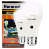 Spesifikasi Hannochs Sensor Light Led Bulb 6 Watt Lampu Otomatis