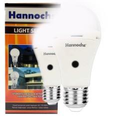 Hannochs Sensor Light Led Bulb 6 Watt Lampu Otomatis Dki Jakarta Diskon 50