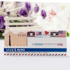Toko Happycat Fashion Chic Unik 363 Series Pola Berguna Todo Spidol Stik Tips Postit Notes Memo Kira Kira 12 5X5 Cm Intl Murah Tiongkok