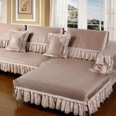 HappyLife Summer Sofa Cushion Mat Ice Silk Liangdian Summer Hidup Roomfabric Eropa Minimalis Modern Non-slip Bamboo Rotan Duduk Mat-Intl