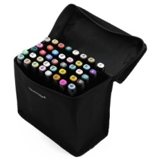 Beli Happystar Touchfive 40 Warna Desain Mahasiswa Sketsa Twin Marker Pen With Gift Set Baru