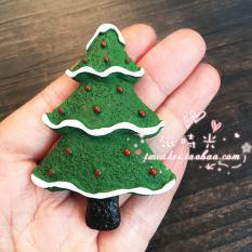 Hari Natal Orang Tua Pohon Natal Manusia Salju Magnet Tempelan Kulkas