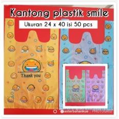 HBT Kantong plastik Smile 24 - Kuning