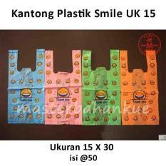 HBT Kantong plastik smile ukuran 15/BIRU