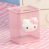 Spesifikasi Hello Kitty Imut Besi Tempa Alat Tulis Kotak Penyimpanan Tempat Pensil Yang Bagus