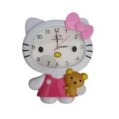 Toko Hello Kitty Karakter Jam Dinding Hk 5157 Dekat Sini