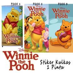 henddia Stiker Kulkas Winnie The Pooh Lucu