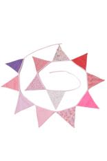 HengSong Rumah Pesta Dekorasi Flags Pink