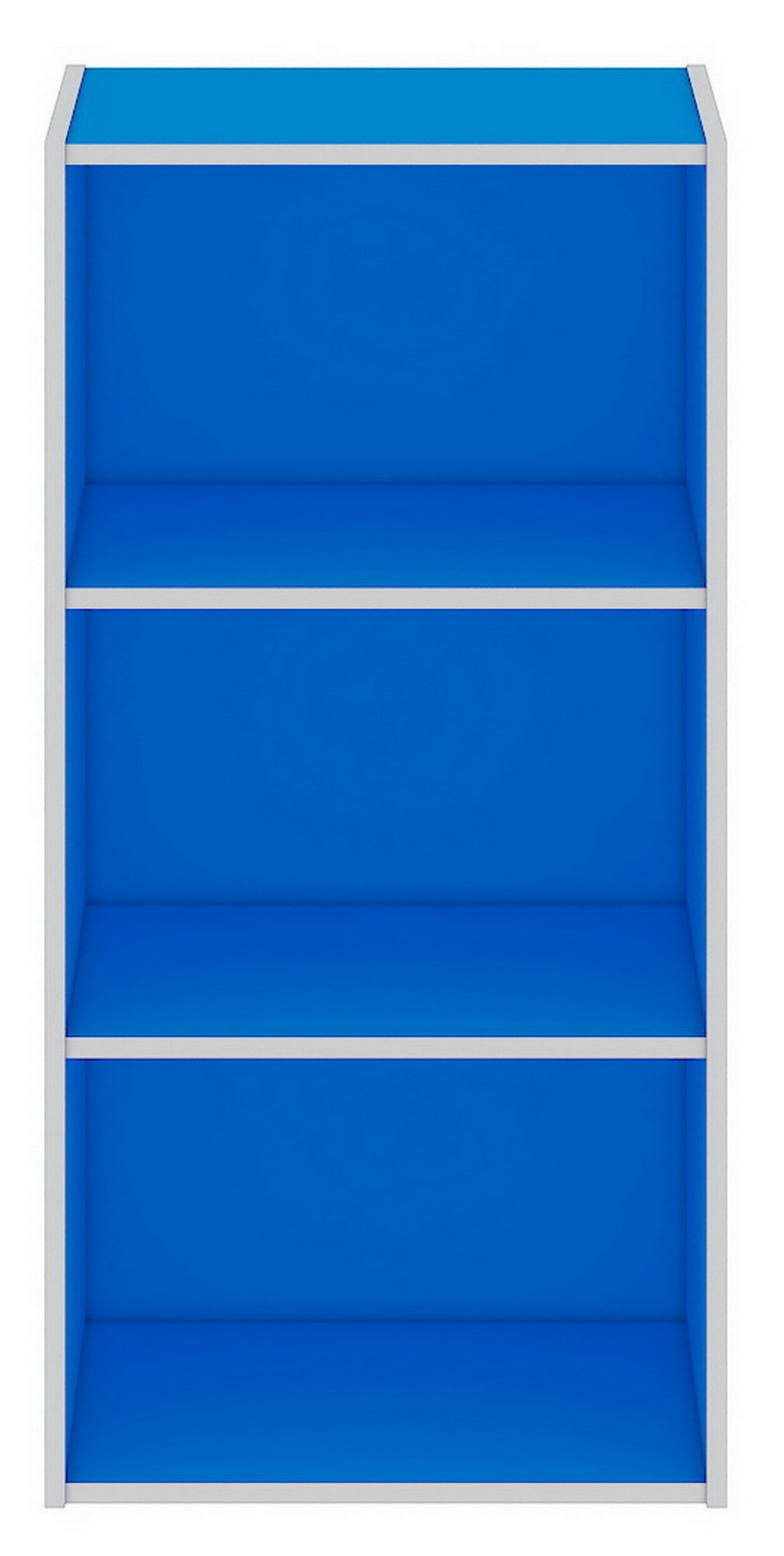 Herman Dexter Rak Buku - Pajangan - Econ Book Rack 3L - Biru Tua