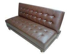 Hermosa Sofa Bed Catur Brown (Khusus Jakarta & Bekasi)