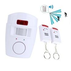 HETU Nirkabel Sistem Alarm Keamanan Rumah Tangga Ada Penyusup With PIR Sensor Gerak