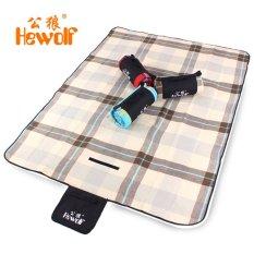 Katalog Hewolf Tikar Piknik Lipat Waterproof Coffee Hewolf Terbaru
