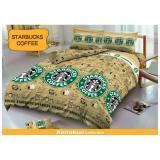 Katalog Hg Kintakun Deluxe Sprei 180X200 Starbucks Coffee Terbaru